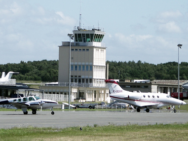 Aviation privée aéroport dinard